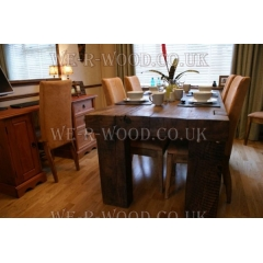 Oak Beam Dining Table