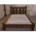 Farmhouse Chunky Slat Bed Low Foot Board