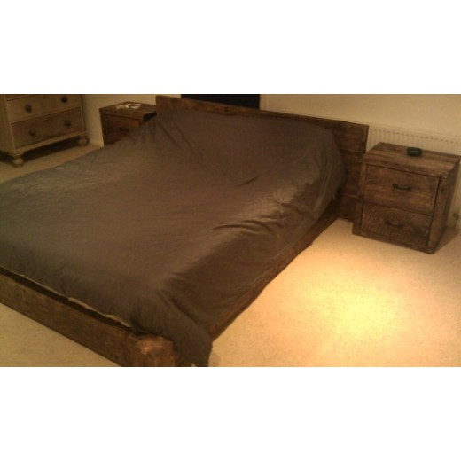 5 x 5 Low Plank Bed