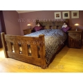 Farmhouse Slat Bed