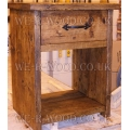 Bedside Table - Drawer to Top Open Bottom