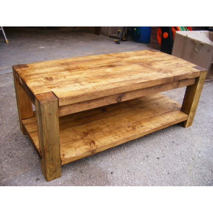 4x4 post coffee table for 4x4 dining table