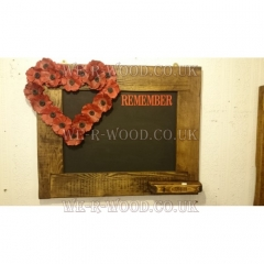 British Legion - Blackboard