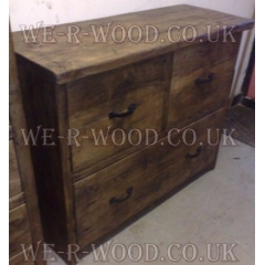 Chest of Drawers Set 2 Over 1