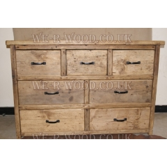Chest of Drawers Set 3 Over 2 Over 2