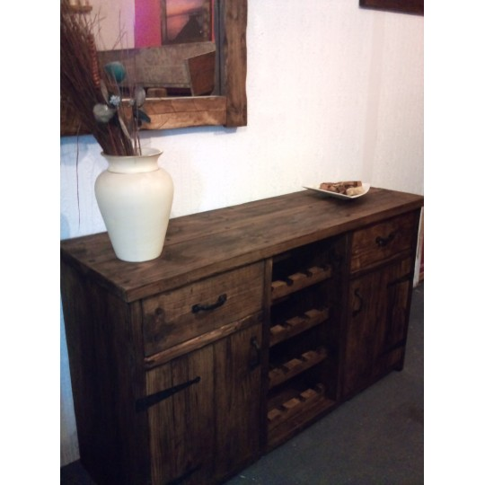 Sideboard With Centre Wine Rack