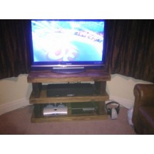 Chunky Beam Tv Unit