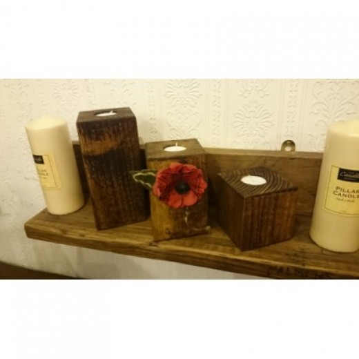 British Legion - Set of 3 Candles