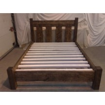 Farmhouse Slat Bed Low Foot Board