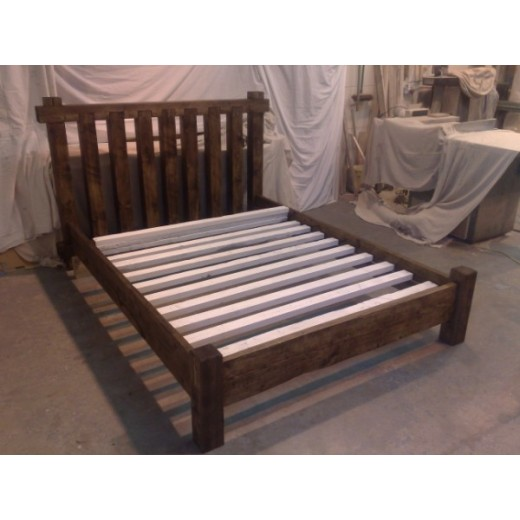 4 x 4 Poster Bed Low Foot Board