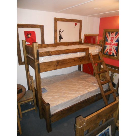 Bunk Bed with Double Base