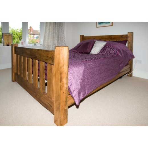 Farmhouse 7 Chunky Slat Bed
