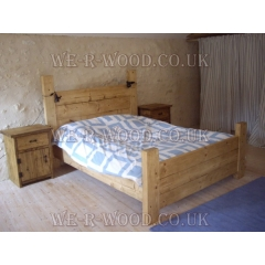 Country Plank Bed