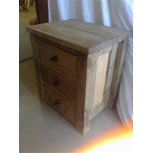 Bedside Table - Panel Bedside Table