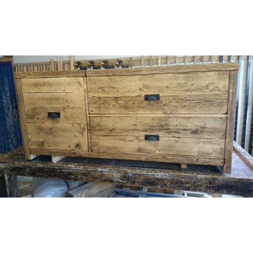 Extra Large Blanket Box with front drawer