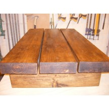 3 Beam Coffee Table