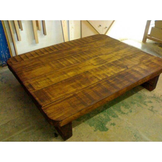 Super Beam Oak Coffee Table