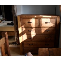 Chest of Drawers Set 2 Over 4 Post