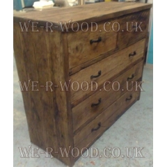 Chest of Drawers Set 2 Over 3