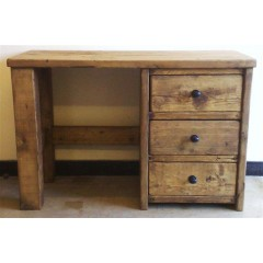 Dresser 2 Post with 3 Drawers & Stool