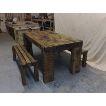 4x8 Beam Dining Table