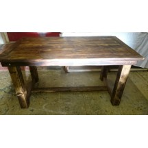 Farmhouse Dark Oak Dining Table
