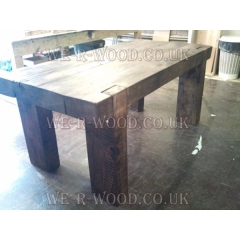 5x10 Beam Dining Table